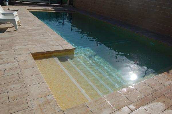 Espectacular piscina de 9x4 metros en zahara aqualar for Piscina 9x4
